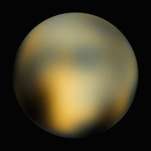 Hubble's best image of Pluto taken in 2003 Image Credit: planetary-science.org