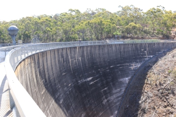 The dam as it is today